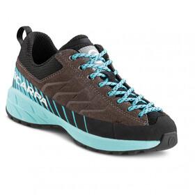 Scarpa Mescalito Lace Shoes Kids, grijs/turquoise